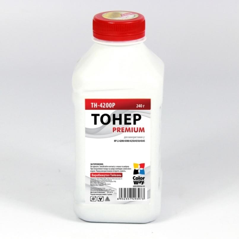 Купить Тонер ColorWay HP LJ 4200/4250/4300/4350 чорний, TH-4200P