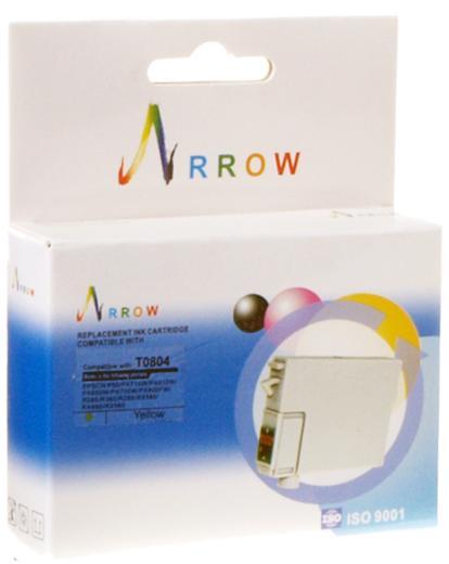 Купить Картридж Arrow T0804 Epson Stylus Photo P50, PX660, PX720WD жовтий