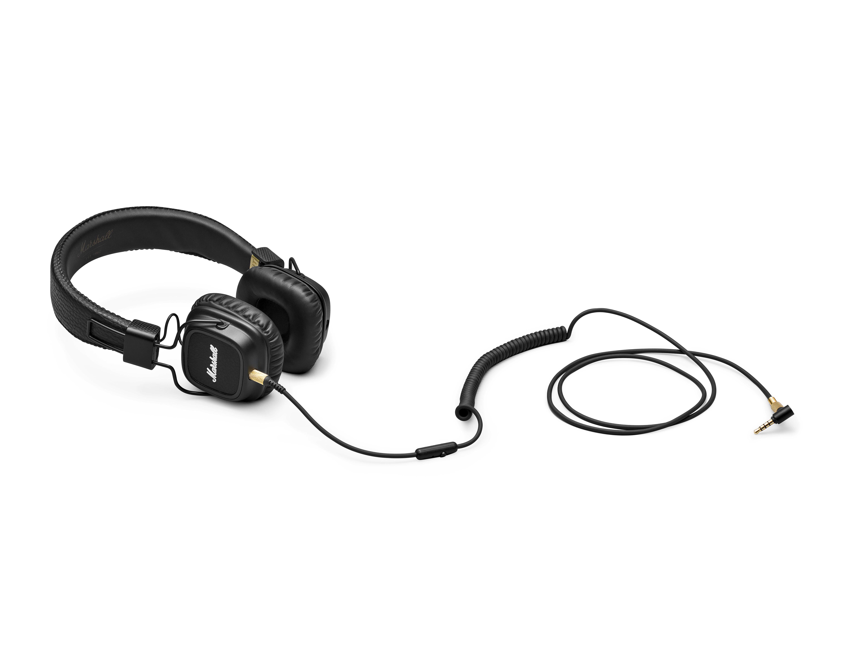 Навушники Marshall Major II чорні – купити в інтернет-магазині KTC  ціни 26ccf1c081b50