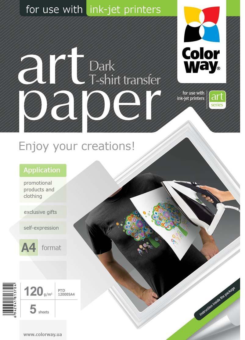Купить Папір A4 Colorway 5 аркушів (PTD120005A4)