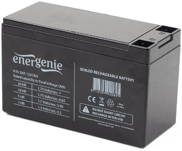 Купить Батарея для ПБЖ EnerGenie BAT-12V7AH