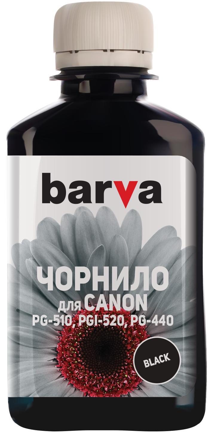 Купить Чорнило BARVA Canon PGI-520/PG-510 чорне, I-BAR-CPGI520-180-BP