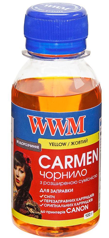 Купить Чорнило WWM Canon Universal CARMEN жовте, CU/Y-2