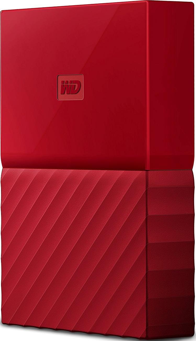 Купить Зовнішній жорсткий диск Western Digital My Passport 3 ТБ червоний, WDBYFT0030BRD-WESN