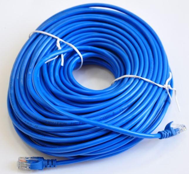 Купить Патч-корд ATcom UTP RJ45 30 м синій, 9173