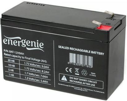Купить Батарея для ПБЖ EnerGenie BAT-12V 9AH, BAT-12V9AH
