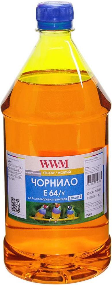Купить Чорнило WWM Epson L110/L210/L355 E64/Y-4 жовте