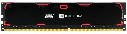 Купить Пам'ять Goodram Iridium Black DDR4 1х8 ГБ (IR-2400D464L15S/8G)