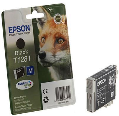 Купить Картридж Epson St S22/SX125/SX130/SX420W/425W Black new, C13T12814012