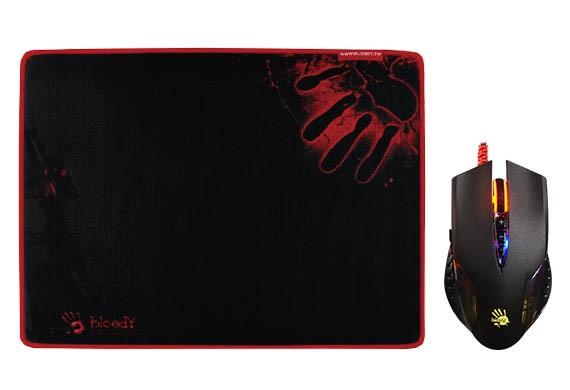 Купить Миші, Миша A4tech Bloody Q50 Black (Q5081S Bloody)