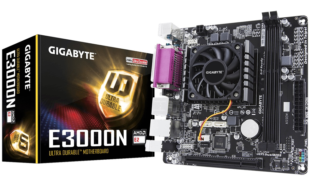 Купить Материнська плата Gigabyte GA-E3000N
