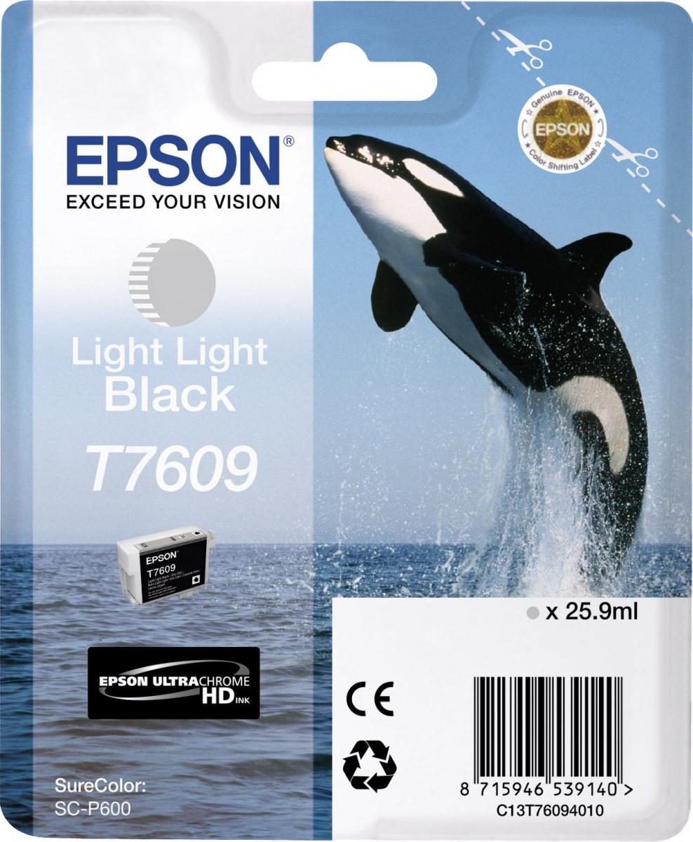 Купить Картридж Epson для SC-P600 Light Light Black, C13T76094010