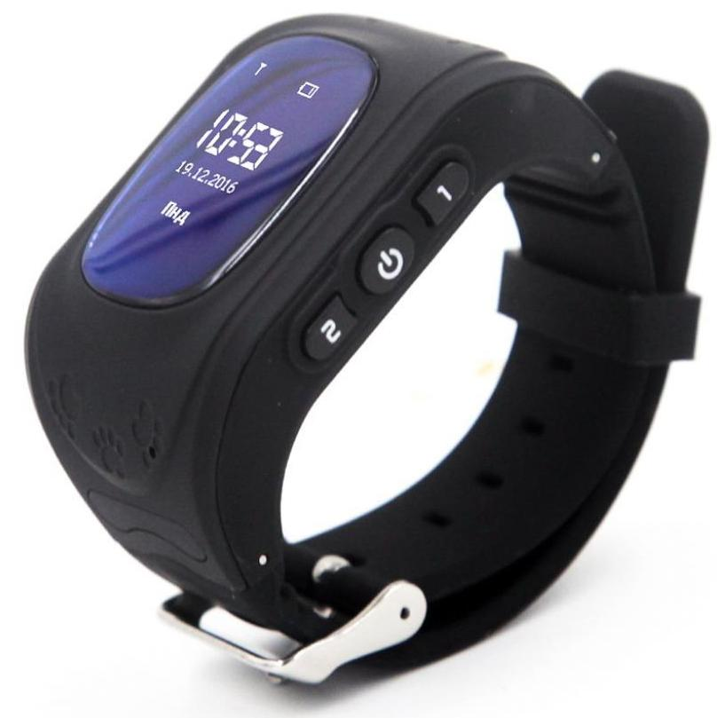 Купить Смарт годинник GOGPS.ME K50 with SIM Kyivstar and GPS Black (K50BK)