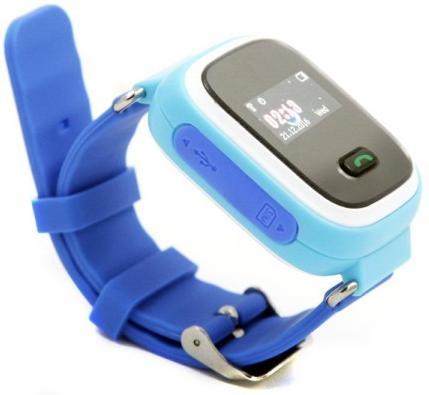 Купить Смарт годинник GOGPS.ME K11 with SIM Kyivstar and GPS Blue (K11BL)