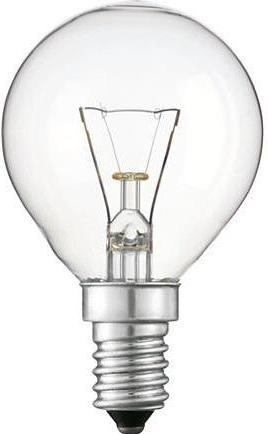 Купить Лампа розжарення Philips E14 40W 230V P45 CL 1CT/10X10 Stan, 926000006523