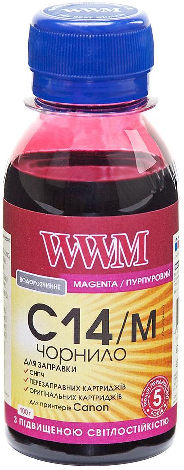 Купить Чорнило світлостійке WWM for Canon CLI-451M/CLI-471M - Magenta 200g (C14/M)