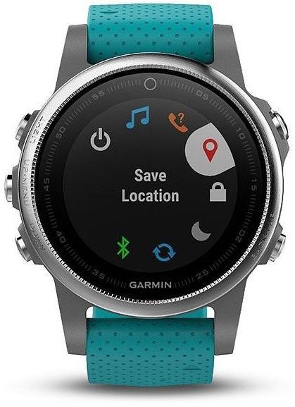 Смарт годинник Garmin Fenix 5S GPS 42mm Turquoise (010-01685-01) ... 424bb95b2b94d