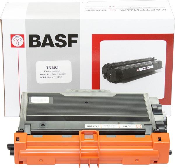 Картридж BASF для Brother HL-L5000D/5100DN/DCP-L5500DN/MFC-L5700DN аналог TN3480 Black