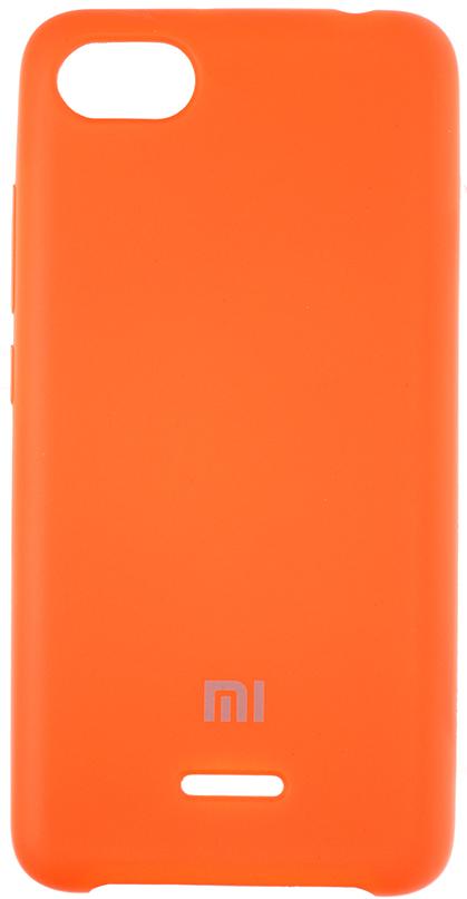 Купить Аксесуари для мобільних телефонів, Чохол HiC for Xiaomi Redmi 6A - Silicone Case Orange (SCXR6A-13)