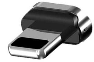 Купить USB кабелі та розгалужувачі, Адаптер WSKEN Apple USB For X1 & X1 PRO Magnetic cable Silver, AppleFor X1 & X1 PRO Magnetic cable
