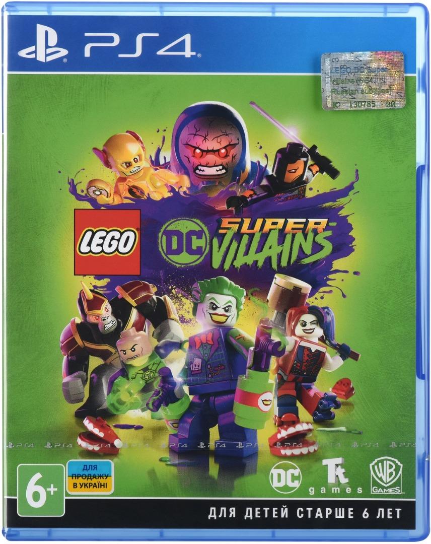 Купить Ігри, Гра LEGO DC Super-Villains [PS4, Russian subtitles] Blu-Ray диск, 2216869, Sony