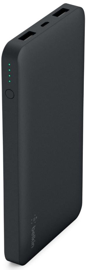 Купить Універсальні батареї Power Bank, Батарея універсальна Belkin Pocket Power 10K Power Bank 10000mAh Black (F7U039BTBLK)