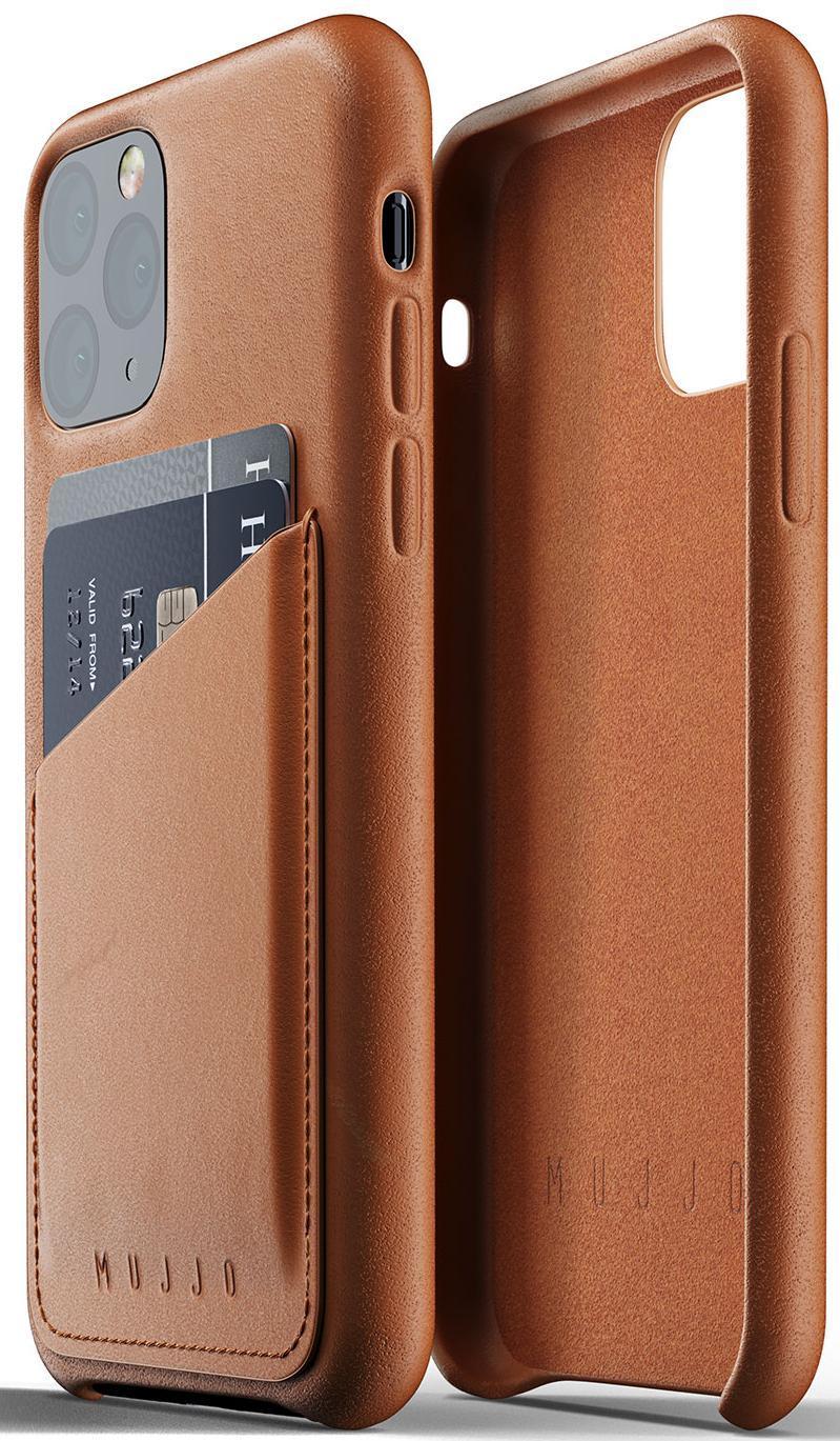 Купить Аксесуари для мобільних телефонів, Чохол MUJJO for iPhone 11 Pro - Full Leather Wallet Tan (MUJJO-CL-002-TN)