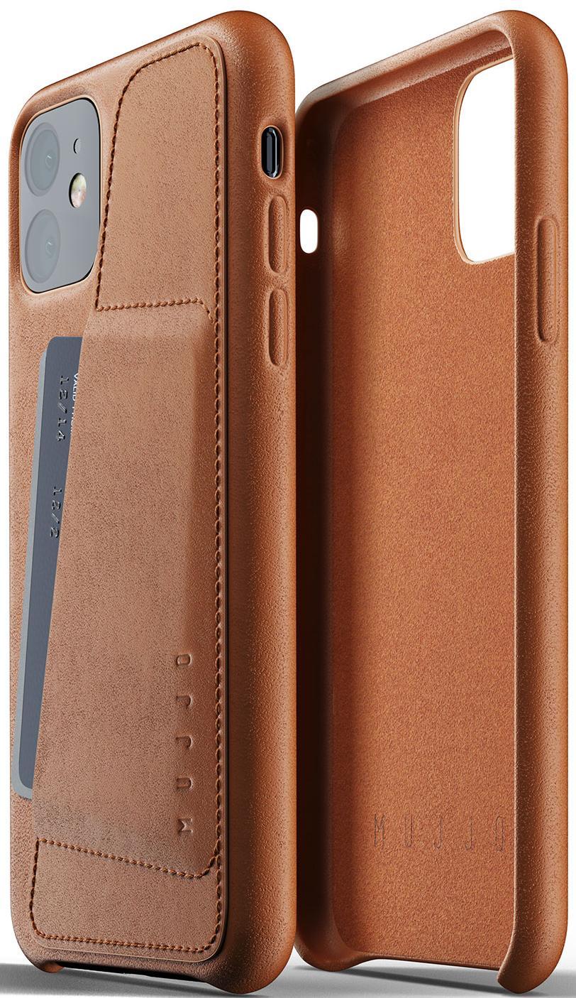 Купить Аксесуари для мобільних телефонів, Чохол MUJJO for iPhone 11 - Full Leather Wallet Tan (MUJJO-CL-006-TN)