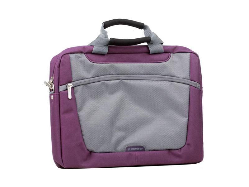 Купить Сумка для ноутбука Sumdex PON-318PL-1 фіолетова