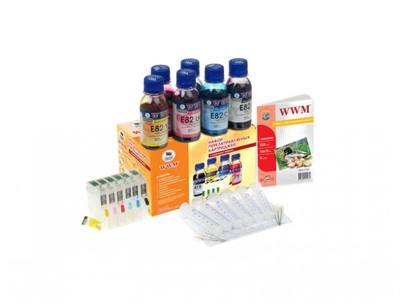 Купить Комплект перезаправних картриджів WWM RC.T080 Epson Stylus Photo P50/PX660/PX720WD/PX820FWD