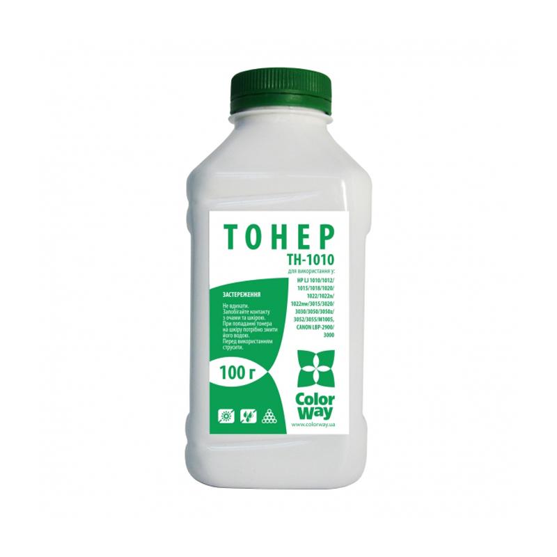Купить Тонер ColorWay TH-1010 HP LJ 1010, 1012, 1015 чорний