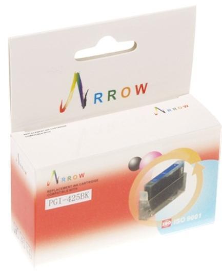 Купить Картридж Arrow Canon Pixma iP4840 / MG5140 / MG5240 / MG8140 чорний, PGI425BK