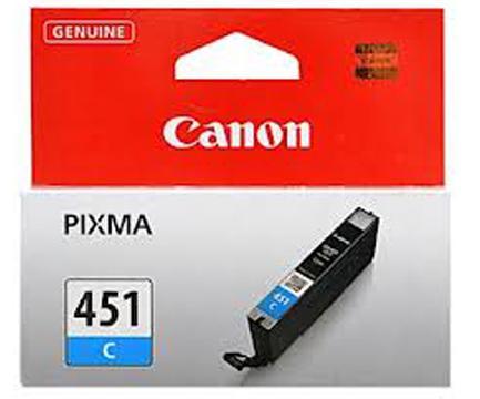 Купить Картридж Canon CLI-451C Canon PIXMA MG5440, MG6340 блакитний, 6524B001