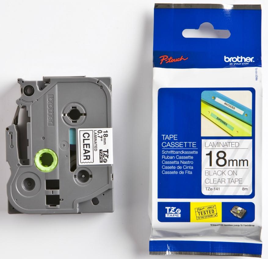 Купить Стрічка Brother TZE141 Brother P-touch PT2430PC, PT2700, PT9700PC