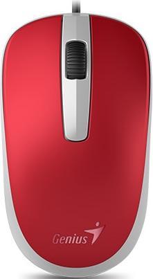 Купить Мишка Genius DX-120 червона, 31010105104