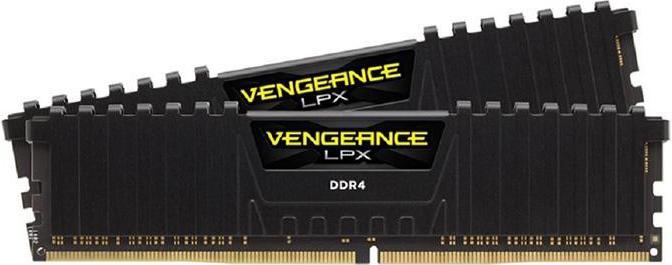 Купить Пам'ять Corsair Vengeance LPX Black DDR4 2x8 ГБ (CMK16GX4M2A2400C16)