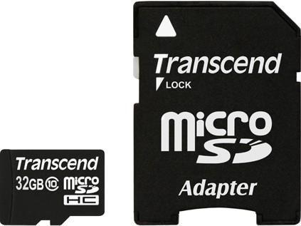 Купить Карта пам'яті Transcend micro SDHC 32ГБ (TS32GSDHC10), TS32GUSDHC10