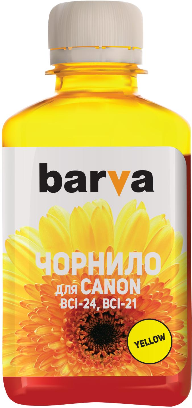 Купить Чорнило BARVA Canon BCI-24 жовте, I-BAR-CBCI24-180-Y