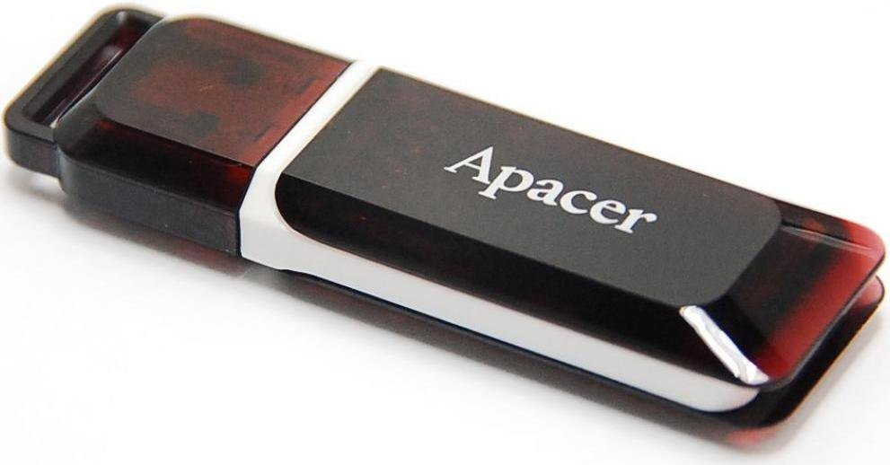 Купить Флешка USB Apacer AH321 32 ГБ (AP32GAH321R-1)