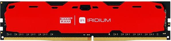 Купить Пам'ять GoodRam Iridium Red DDR4 1x4 ГБ (IR-R2400D464L15S/4G)