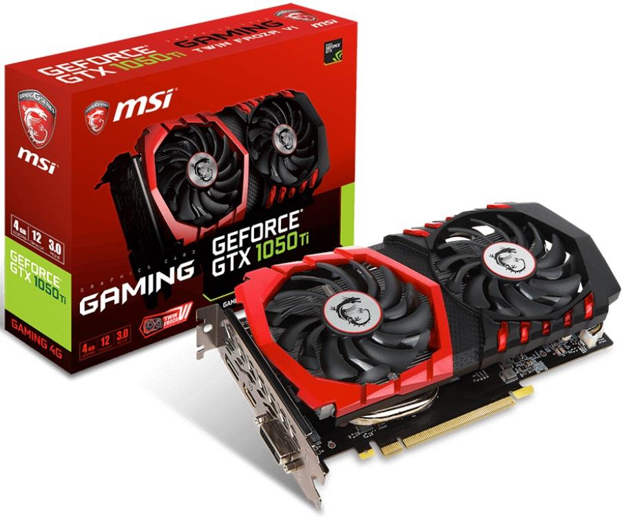 Купить Відеокарта MSI GTX 1050 Ti GAMING 4G (GTX 1050 Ti GAMING 4G), GTX 1050Ti GAMING 4G