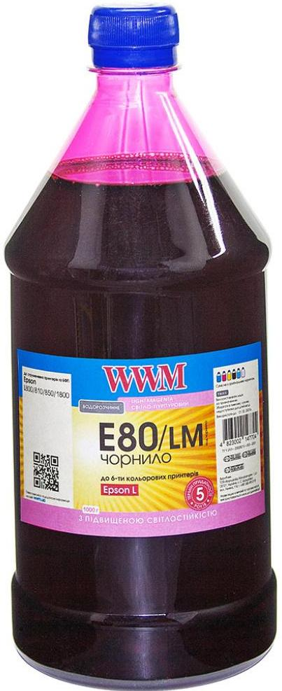 Купить Чорнило WWM E80/LM-4 Epson L800 Light Magenta