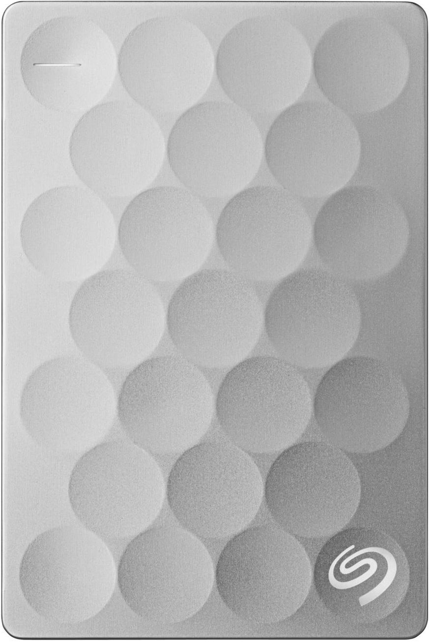 Купить Зовнішній жорсткий диск Seagate Backup Plus Ultra Slim 1 TB STEH1000200 Platinum
