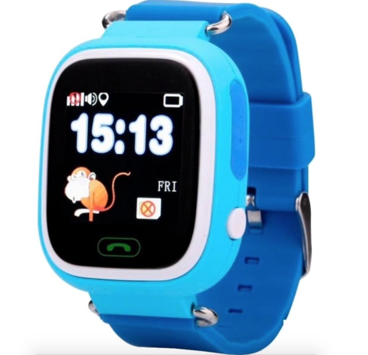 Смарт годинник Mobiking Smart Baby Watch TD-02 Q100 Blue (52817 ... 7a4b324ca616f