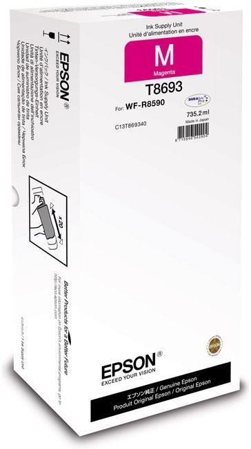 Купить Картридж Epson для WF-R8590 Magenta XXL 75к, C13T869340