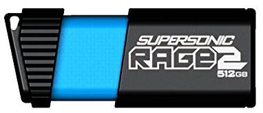 Купить Флешка USB Patriot Supersonic Rage 2 512GB PEF512GSR2USB Black
