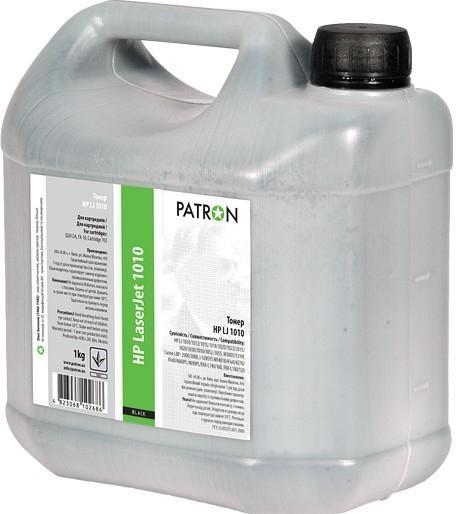 Купить Тонер Patron for HP LJ 1010 Флакон 1kg, T-HP-1010-1-PN, PATRON (Україна)