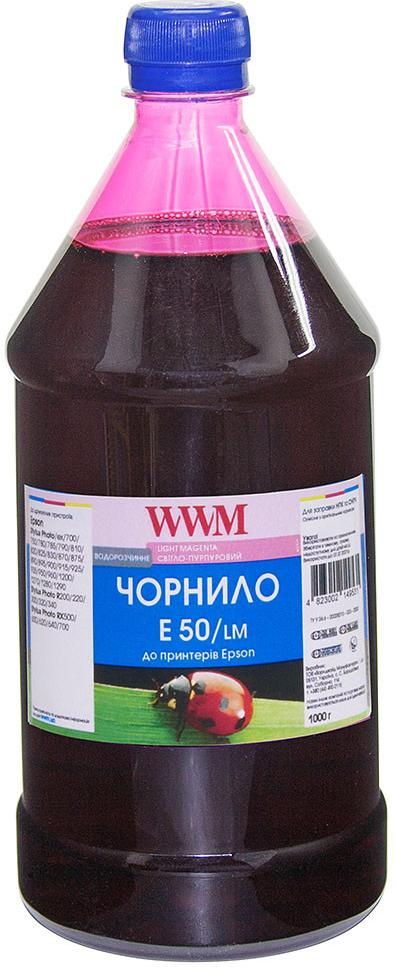 Купить Чорнило WWM for Epson Stylus Photo R200/R340/RX620 (Light Magenta) 1000g (E50/LM-4)