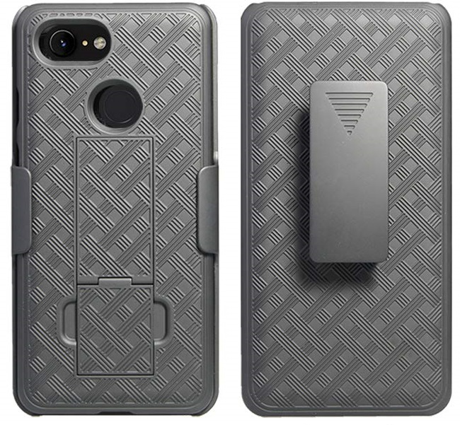 Чохол Verizon for Google Pixel 3 XL - Shell and Holster Black (51501VZRHOC)