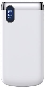 Купить Універсальні батареї Power Bank, Батарея універсальна JoyRoom Power Bank D-M194 Li-Pol LCD PD 10000mAh White (D-M194 White)